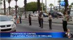Informe en vivo | Avenida Francisco de Orellana intervenido por la Policía Nacional