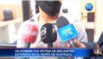 VIDEO | Un hombre fue víctima de secuestro extorsivo en el norte de Guayaquil