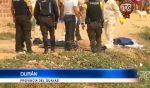 VIDEO | Encuentran un hombre muerto en una zanja en Durán