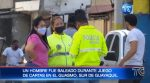 "VIDEO   El ""Cojo Román"" muere baleado en Guayaquil"