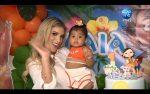 VIDEO |María Fernanda Pérez celebró el primer año de su hija Alaia