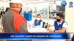 VIDEO   CNE decidirá cambio en horario de votaciones