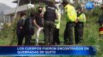 VIDEO   Cuatro suicidios en Quito en los últimos días
