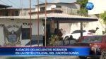 Insólito: Roban en retén policial de Durán