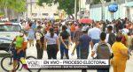 VIDEO   Miles de personas en el sur de Guayaquil esperando sufragar