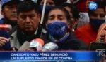 VIDEO | Yaku Pérez denuncia supuesto fraude electoral en su contra