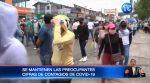 Por hora 1.200 personas se contagian de COVID-19 en Ecuador