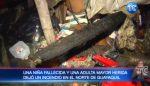 VIDEO | Incendio en Pascuales: Una niña fallecida y varios heridos