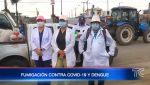 Brigadas de fumigación recorren sectores de Guayaquil
