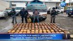 VIDEO  Varios narco laboratorios hallados en territorio ecuatoriano