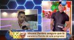 VIDEO | Vicent Daniers ocupa el lugar de Fercho Gómez como presentador de un programa