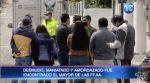 VIDEO | Desnudo y maniatado fue encontrado un militar en Quito