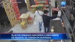 Asaltan local de comida rápida en Guayaquil