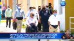 Presidente Moreno participó de entrega de viviendas en Montecristi, Manabí