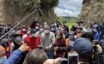 Guillermo Lasso denunció agresión por parte del alcalde de Guamote, Delfín Quishpe