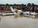 Seis muertos dejó el accidente de una avioneta en Salitre, provincia del Guayas
