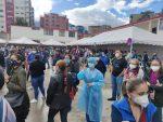 Anomalías en jornada de vacunación en Quito se originó por cambios de última hora en el Ministerio