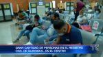Ciudadanos acuden a sacar cédula de identidad previo al día de las elecciones