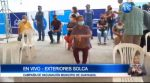 Largas filas por campaña de vacunación en Guayaquil