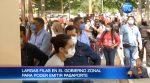 Largas filas por conseguir un pasaporte en Guayaquil
