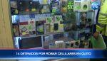 Desarticulan banda que se dedicaba a robar celulares
