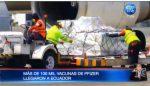 Más de 100 mil vacunas de Pfizer llegaron a Ecuador
