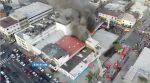 Voraz incendio en el centro de Guayaquil alarmó a la ciudad