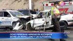Más de 20 heridos en dos accidentes de tránsito en provincia de Manabí