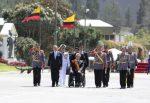 Ceremonia militar por los 210 años del Primer Grito de Independencia