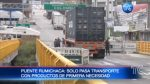 Se habilita puente internacional Rumichaca solo para el comercio