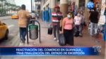 Este fin de semana se reactiva el comercio en Guayaquil
