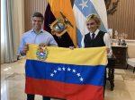 Leopoldo López y Cynthia Viteri se reunieron en Guayaquil