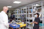 El vicepresidente y la ministra de Salud recorrieron los hospitales de Quito