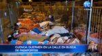 En Cuenca las personas duermen en la calle en busca de pasaportes
