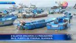 Cinco pescadores son secuestrados para robar sus pertenencias en Posorja