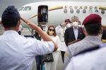 El presidente Guillermo Lasso regresó al país