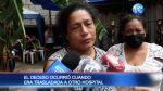 Se confirmó muerte de una niña durante incendio de hospital en Manabí