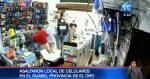 Delincuentes asaltan local con celulares en el Guabo, provinica de El Oro.