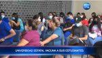 Universidad Estatal de Guayaquil vacuna a sus estudiantes