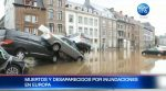 Más de 120 muertos y decenas de desaparecidos en inundaciones en Europa
