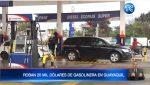 Delincuentes se llevan $20.000 de una gasolinera en Guayaquil