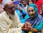 Madre e hijo se reencuentran después de 70 años