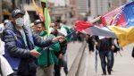 Al menos 31 heridos en choques entre manifestantes y policía en Bogotá
