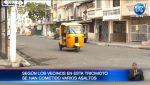 Banda de tricimoteros atraca a ciudadanos en el suburbio de Guayaquil
