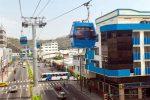 VIDEO | Aglomeraciones en las estaciones de la aerovía de Guayaquil