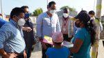Gobernador del Guayas entregó tablets a niños en cantón Playas