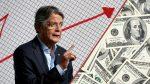 Gobierno adelanta incremento de impuestos a quienes ganan más de $2.000 al mes en Ecuador