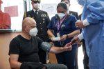 Vicepresidente Alfredo Borrero recibió primera dosis de vacuna conta el COVID-19