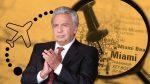 El expresidente Lenín Moreno notificó a la Asamblea que viajará a Miami