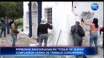 Sancionados en toque de queda cumplieron trabajo comunitario en Quito